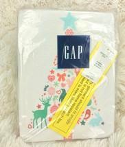 BABY GAP Christmas Pajamas Glitter Tree Fleece Pants 2 Piece Girl's 2 Years - $31.68