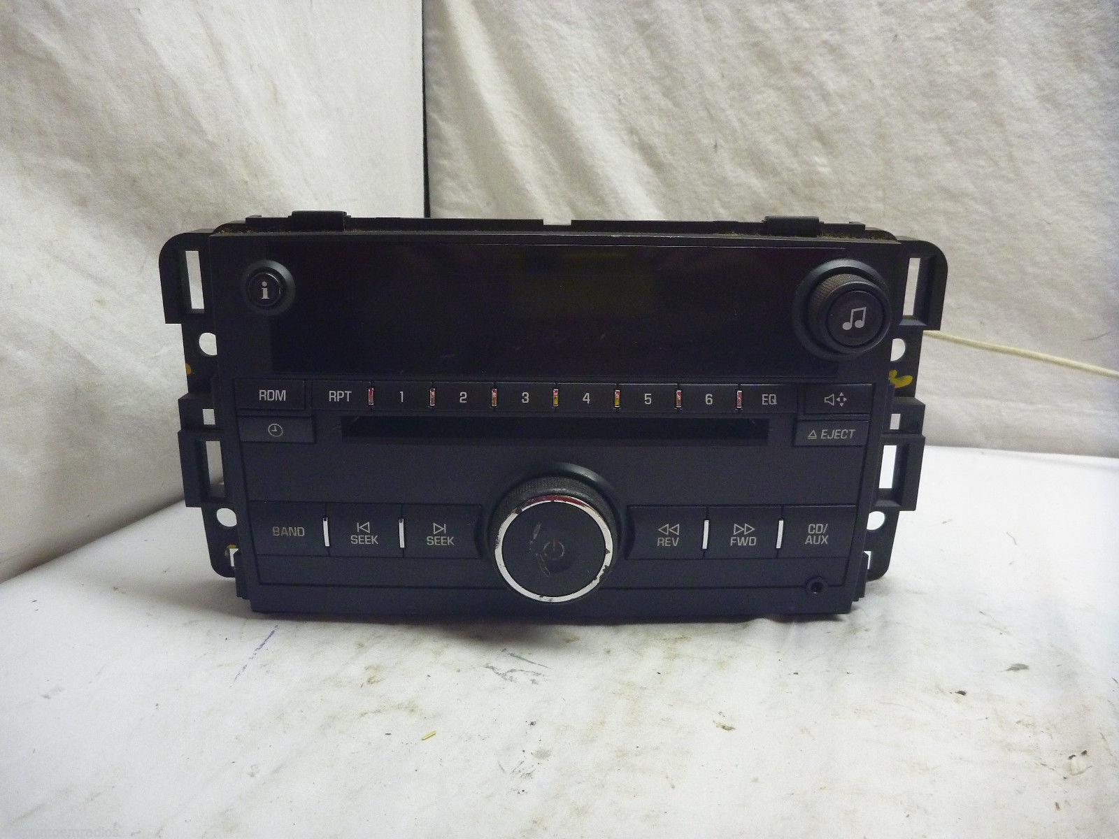 2006-2008 Chevrolet Monte Carlo Impala Radio Single Cd Player 15951757 15F113