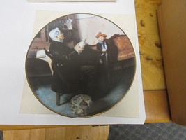 """Royalwood China Norman Rockwell,  """"The Doctor and the Doll"""",  Plate 8.25... - $11.88"""