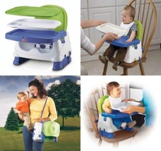 Fisher-Price Booster Seat, Blue/Green/Gray  - $54.34