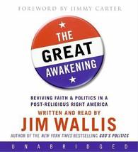 The Great Awakening by Jim Wallis (2008, CD, Unabridged) - €24,13 EUR