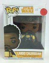 "Funko Pop! Star Wars Vinyl Bobble-Head Figurine Model ""Lando Calrissian""... - $11.39"