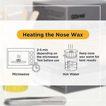 Nose Wax - Nose Hair Waxing Kit for Men and Women 2.1oz 60 grams Waxing Made Eas image 7