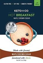Keto Hot Breakfast Stevia Maple Brown Sugar Flavor - 8 Servings