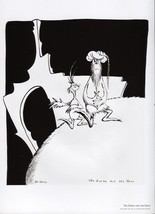 "Dr. Seuss. ""Midnight Paintings"" Cartoon Print. ""The Zorax and the Groo"". - $19.95"