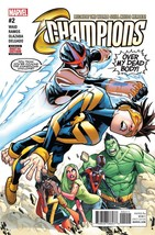CHAMPIONS #2 MARVEL   EST REL DATE 11/02/2016 SOLD OUT - $3.99