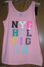 Tommy Hilfiger Women's Cotton, Logo Tank/Top, Orange Color, Size Large(U... - $17.99