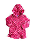 Pink Platinum Baby Girls Polka Dot Hooded Trench Jacket, 2 Colors,Sz. 12... - $15.99