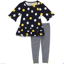Carter's Infant Girl Dots & Stripes Tunic & Leggins Set.Size 24 Months. NWT - $17.81