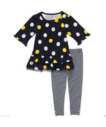 Carter's Infant Girl Dots & Stripes Tunic & Leggins Set.Size 24 Months. NWT - $17.81