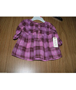Route 66 Baby Girl Plaid, Front Buttons Tunic/Top, Size 3-6 Months. NWT - $9.89