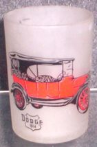 1960'S Retro Hazel ATLAS--BARWARE Old Cars Shot Glass (Dodge 1914) - $7.95