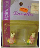 Vintage Easter Barrettes from Treasury Drugs - $10.00