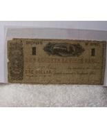 The Augusta Savings Bank $1 1861 Georgia - $21.25