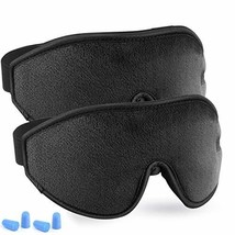 Adjustable Eye Sleep Mask - LYOOLY 2Pack Upgraded 3D Contoured Sleeping ... - $574,56 MXN