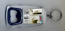 Titanic Bottle Opener Keyring NEW - £5.59 GBP