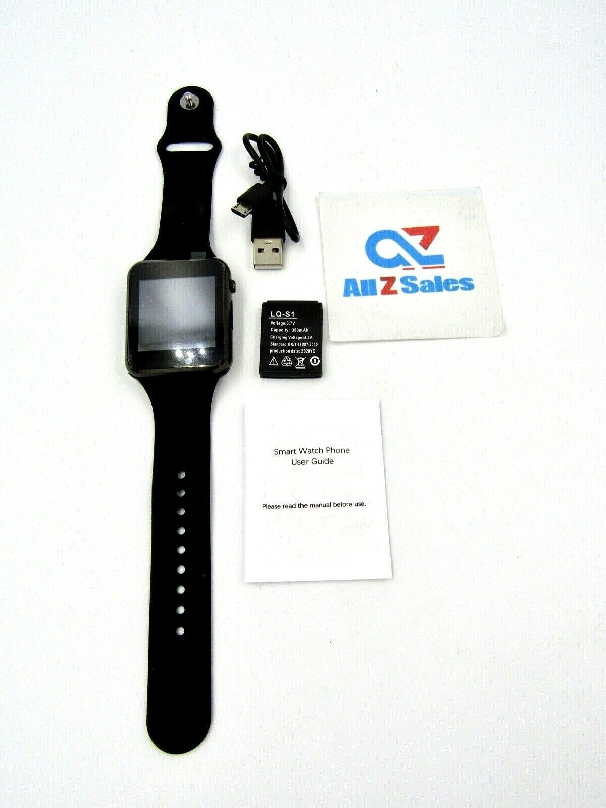 Primary image for Smart Bracelet Watch Phone, Internet, Fitness Wristband - New without Box