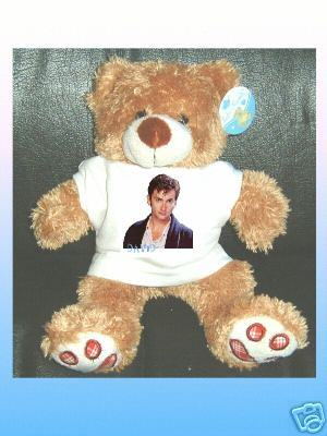 DOCTOR WHO DAVID TENNANT CUDDLY TEDDY BEAR
