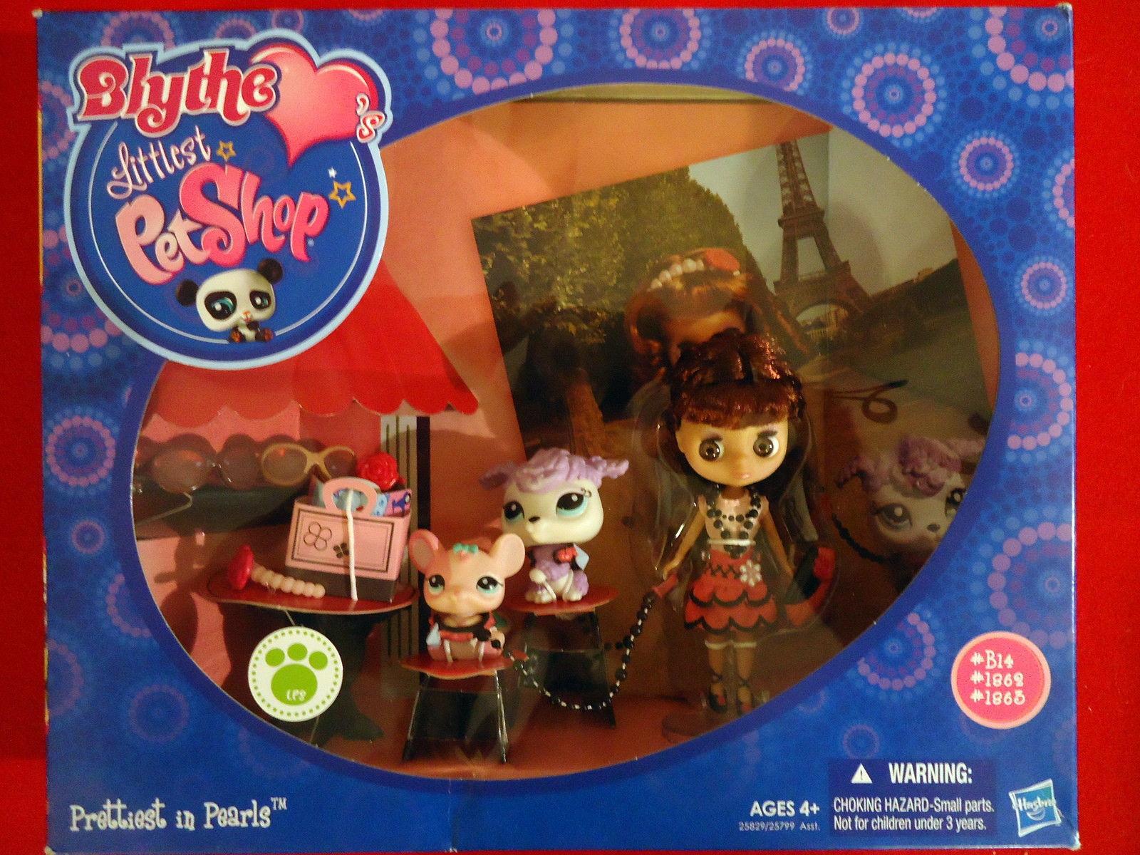 """Blythe Littlest Pet Shop """"Prettiest in Pearls Series"""" 4+"""