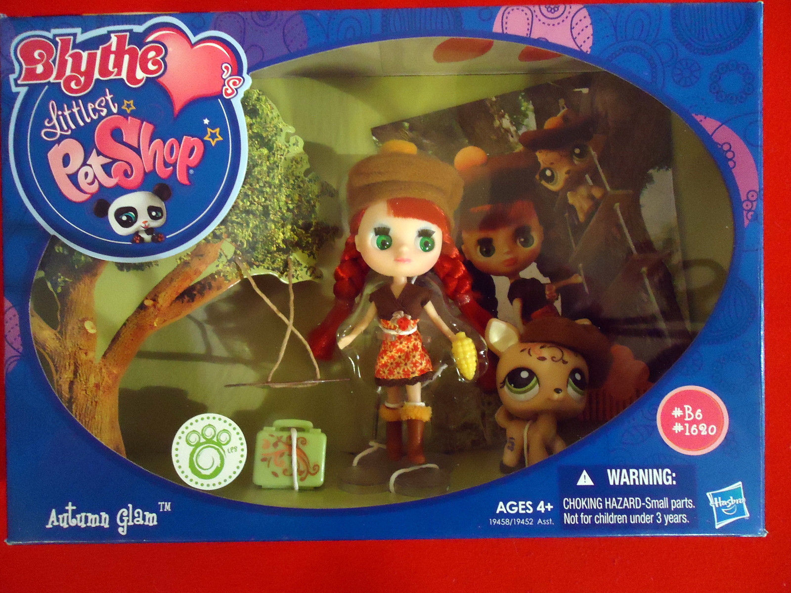 """Blythe Littlest Pet Shop """"Autumn Glam"""" series Ages 4+"""