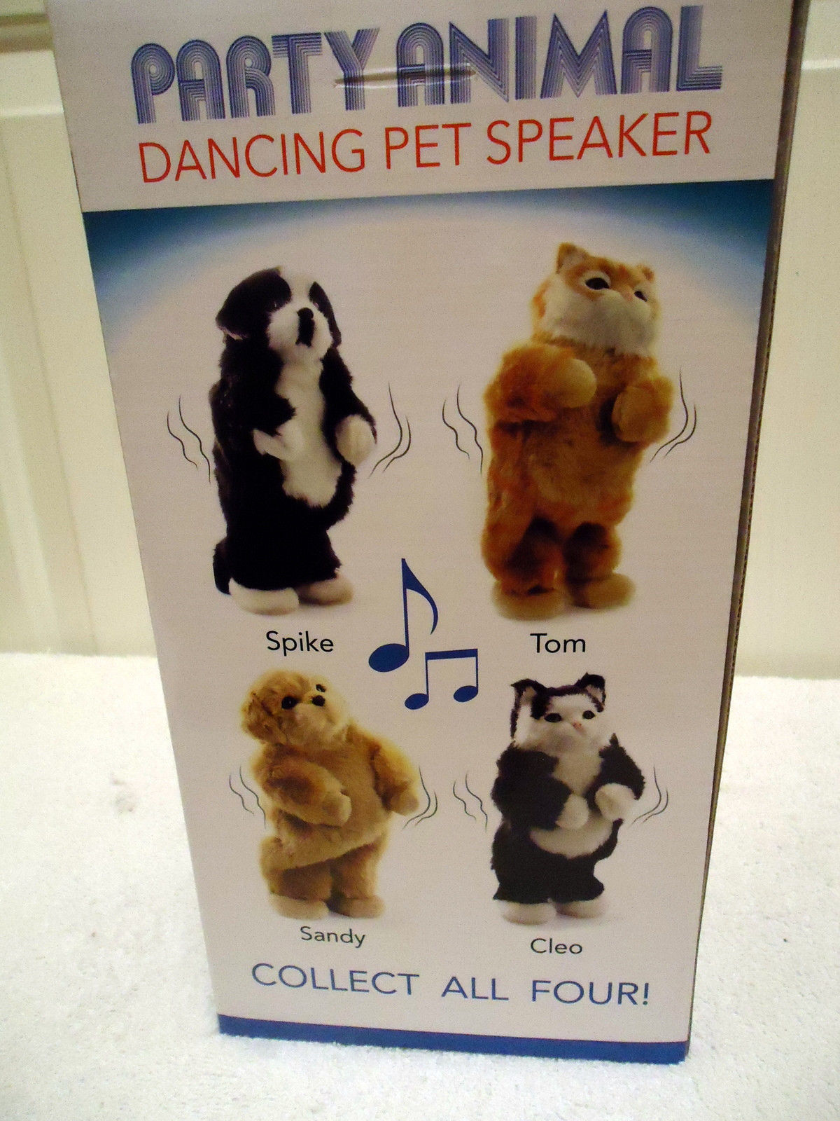 Party Animal Dancing Speaker Ages 6+ Tom 1