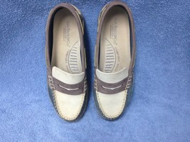 Ladies Genuine GH Bass & Co Deck Boat Shoes Slip Ons Size 8 1/2  EUC - $21.71