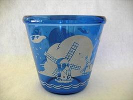 Hazel Atlas Cobalt Blue Depression Windmill Ice Tub - $15.00