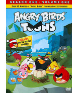 ANGRY BIRDS TOONS - SEASON 1 ONE, VOLUME 1 ONE DVD NEW sealed - $8.88