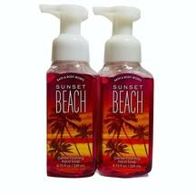2-Pack Bath & Body Works SUNSET BEACH Gentle Foaming Hand Soap 8.75 fl.oz - $16.82