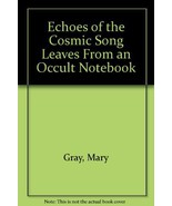 Echoes of the cosmic song;: Leaves from an occu... - $20.80