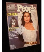 People Magazine 4/10/78 Cher & Kiss Gene Simmons Dating Article + More - $19.99