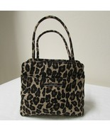 Nine West Leopard Print Small Clutch Evening Bag Purse - $23.00
