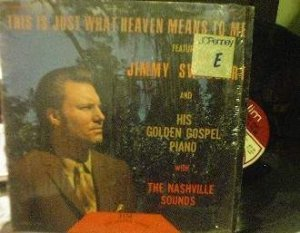 Jimmy Swaggart - This is Just What Heaven Means to Me - Jim Records LP 111
