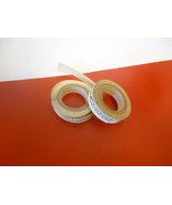 2 Rolls Vintage Zipper Adhesive Zip Stick For Holding Zippers Pat Pending - $8.00