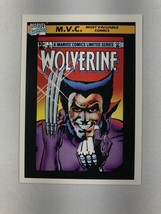 Marvel Universe Most Valuable Comic Card #133: Wolverine Limited Series #1, 1990 - $1.97