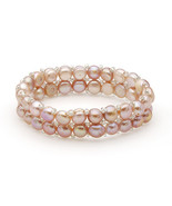 BRAND NEW GLASS BEAD AND PEARL BRACELET - $19.95