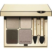 clarins Eye Quartet Mineral Palette Long lasting 0.1 oz Unboxed - $32.99