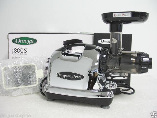 omega 8226 juicer nutrition center wheatgrass coffee grinder chrome black 220v juicers. Black Bedroom Furniture Sets. Home Design Ideas