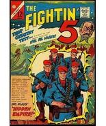 The Fightin' 5 #36 1965- Shark cover- Charlton Silver Age FN/VF - $31.53