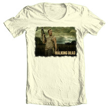 The Walking Dead Daryl T-shirt zombie TV show 100% cotton graphic printed tee image 1
