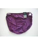 Vanity Fair Body Shine Illumination String Bikini Size 5 - Purple Poison - $5.99