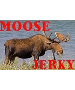 Moose Jerky. Try the taste of Wildlife! Natural meat NO PRESERVATIVES! - $54.99+
