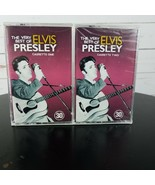 Elvis Presley The Best Of Cassette Tapes Vol 1, 2, NEW SEALED - $44.99
