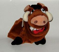 """50% off! Disney Pumbaa Wart Hog Hand Puppet 10"""" NWT - $6.00"""