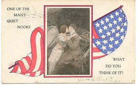 What Do You Think of Our Flag 1908 Vintage Post Card  - $6.00