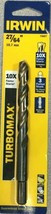 Irwin 73627ZR 27/64 in. x 5-3/8 in. L High Speed Steel Drill Bit 1 pc. - $9.88