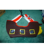 NEW NEVER WORN CHILD FOAM BACKED PIRATE SHIP HA... - $20.00