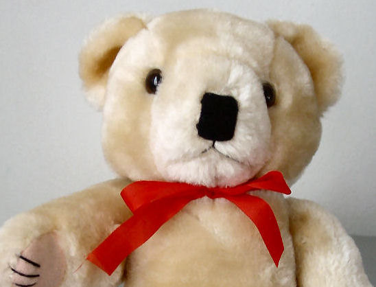 """Tan Undressed Bear 11"""" and 2 Free Crochet Patterns for Clothes - $5.99"""