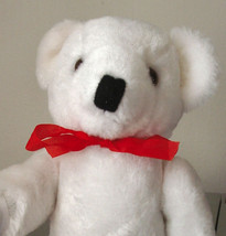 White Undressed Bear and 2 Free Crochet Patterns for Clothes - $5.99