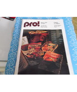 PRO! Magazine 11-30-75 Eagles vs 49ers Game Day Magazine - $12.00